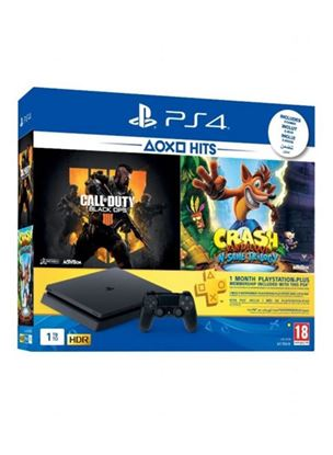 Picture of PLAYSTATION 4 1TB WITH 2 GAMES CALL OF DUTY & CRASH BANDICOOT