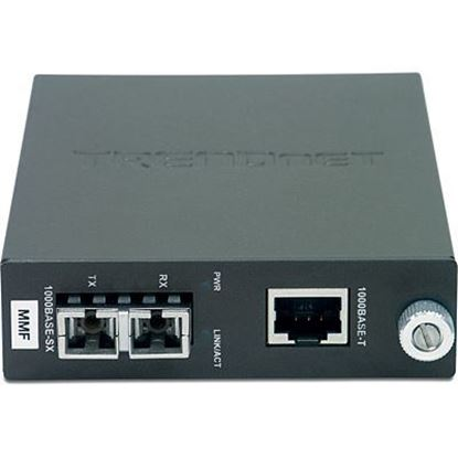 Picture of FIBER CONVERTER TFC-1000MSC GIGABIT MULTI MODE TO CAT 6
