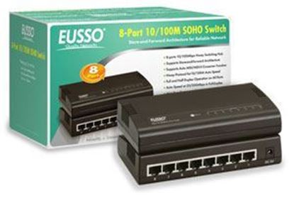 Picture of SWITCH HUB 8 PORT EUSSO 10/100