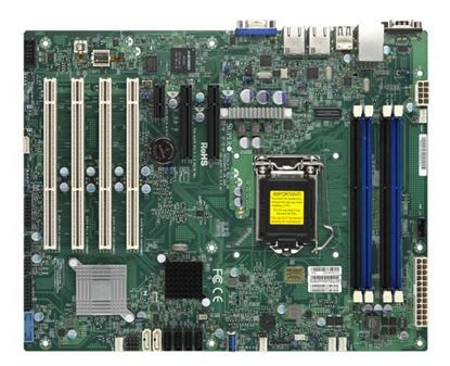 Picture of MB SUPER MICRO X10SLA-F-O 4 PCI SLOTS